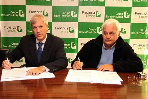 Barracchia firmó un leasing para equipos con destino al Hospital