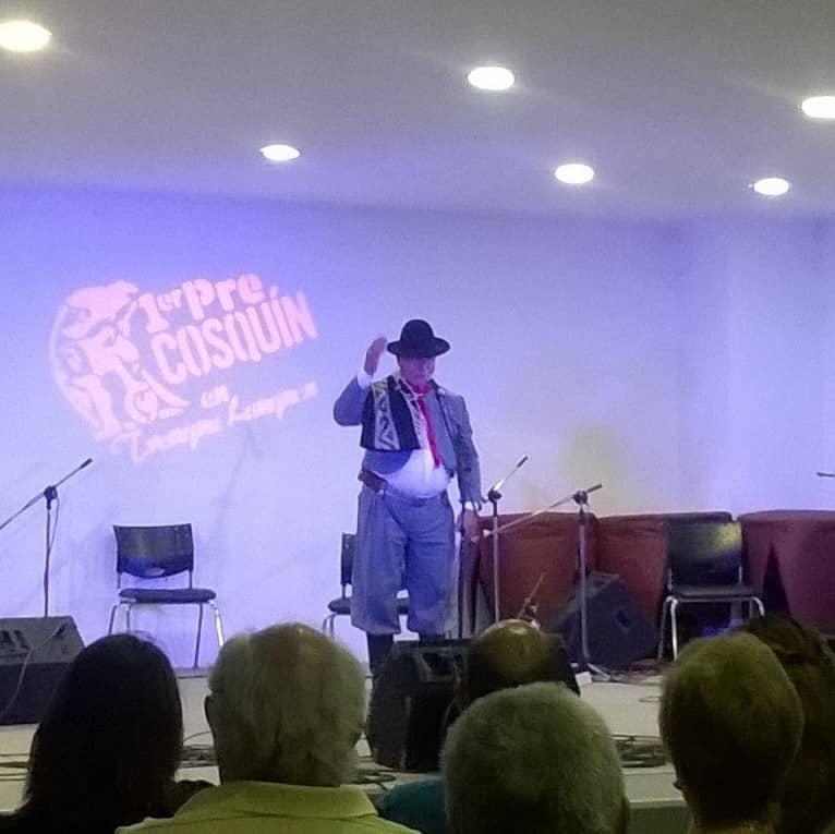 Jorge Vilchi en la final del Pre Cosquín