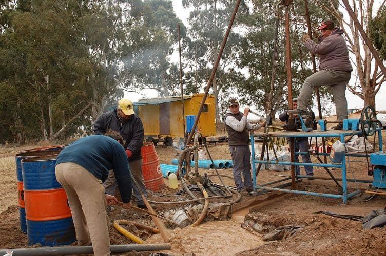 El Municipio construyó un pozo de agua para Beruti