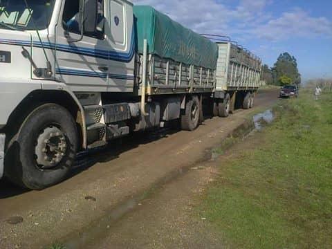 Se hicieron infracciones a camiones que transitaban días de lluvia