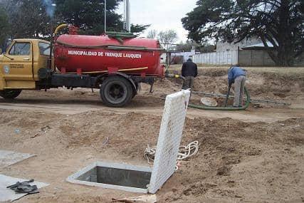 El Municipio puso a funcionar una nueva sala de bombeo cloacal