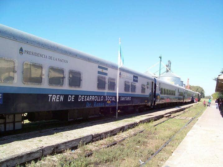 Llega el Tren Sanitario a la ciudad