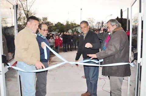 Quedó inaugurado el Polideportivo de Berutti