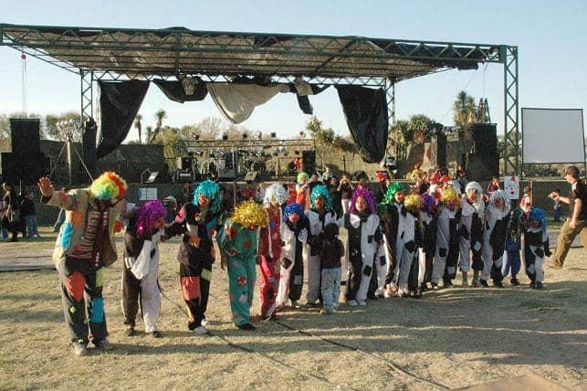 Más de 150 chicos en el Circo Interbarrial