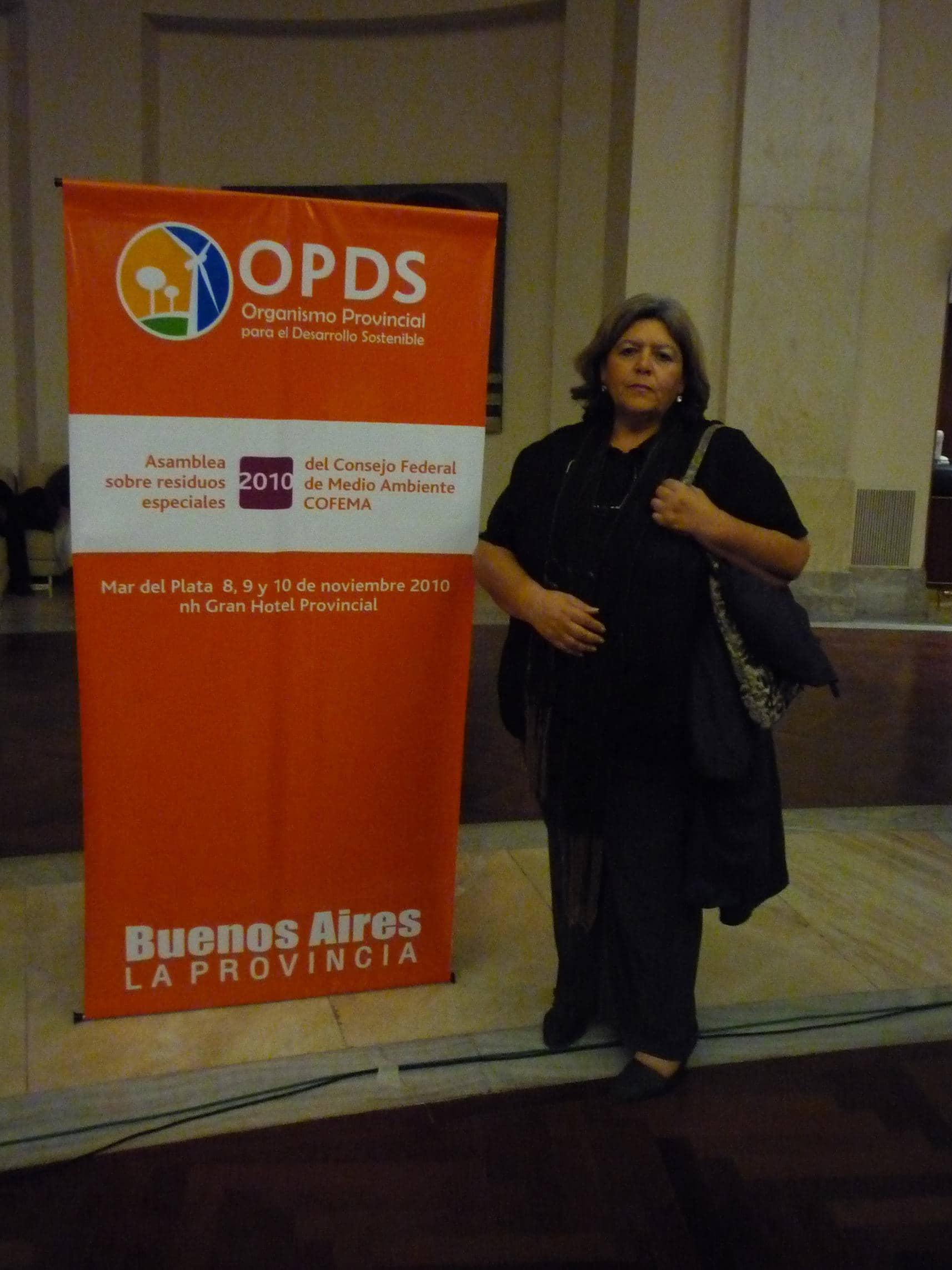 Estela Toniolo disertó en un encuentro provincial sobre residuos