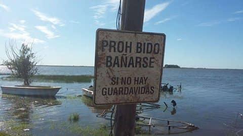 El Municipio cerró el balneario Cuerro de Zorro