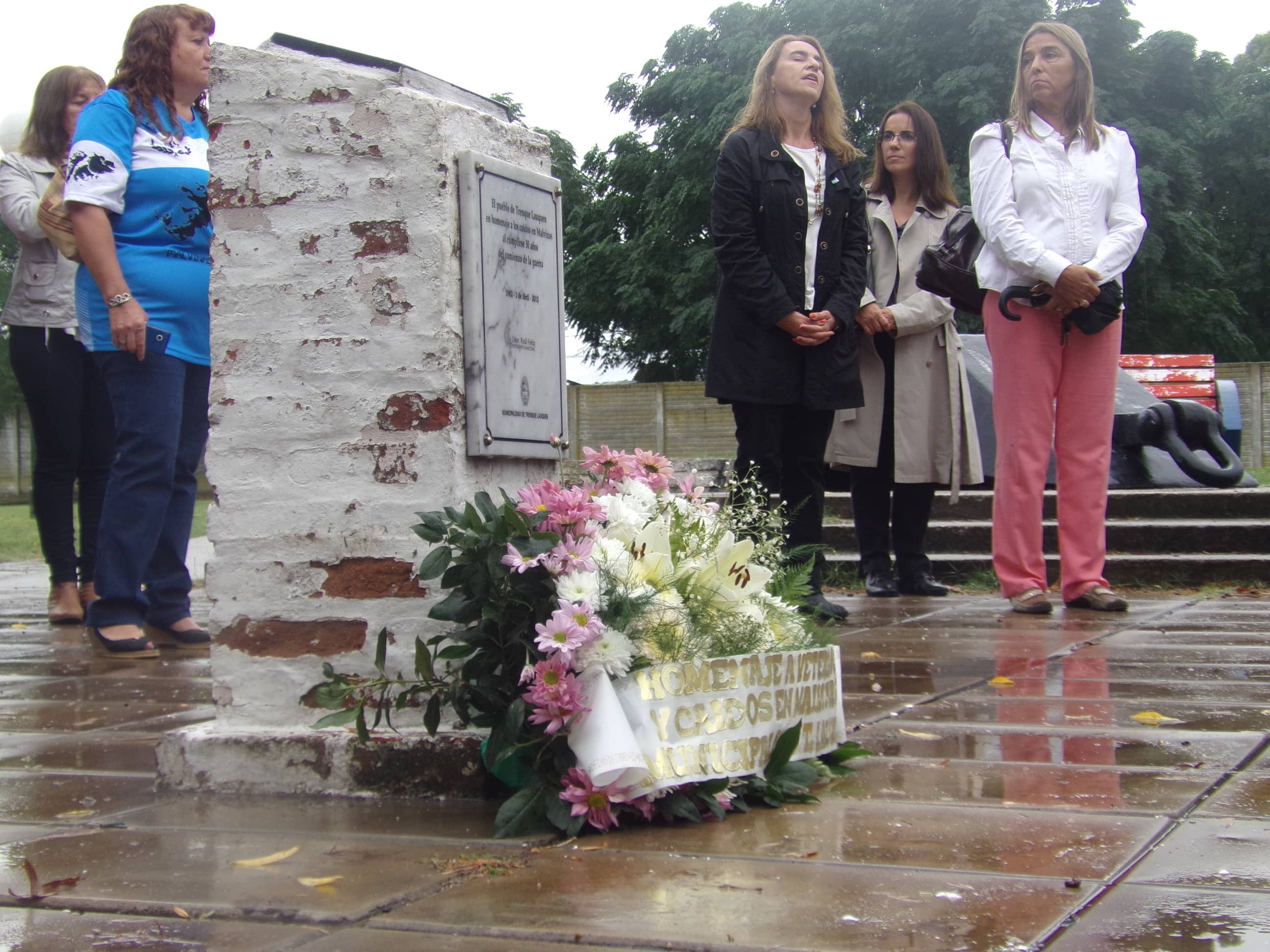 Se realizó el acto por el Día del Veterano y los Caídos en Malvinas