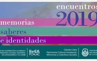 """PATRIMONIO CULTURAL INMATERIAL: """"MEMORIAS, SABERES E IDENTIDADES"""", EN UN CICLO DE OCHO ENCUENTROS"""