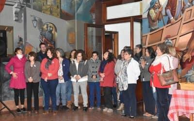 EN EL MUNICIPIO LOS EMPLEADOS CANTARON EL HIMNO POR EL 209º ANIVERSARIO DE LA REVOLUCIÓN DE MAYO