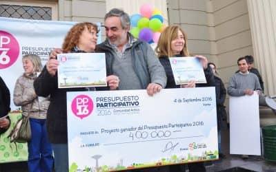 La Municipalidad inaugura un proyecto productivo de los Güemes y Los Robles