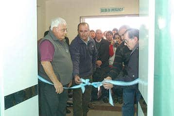 Inauguraron las obras del Hospital