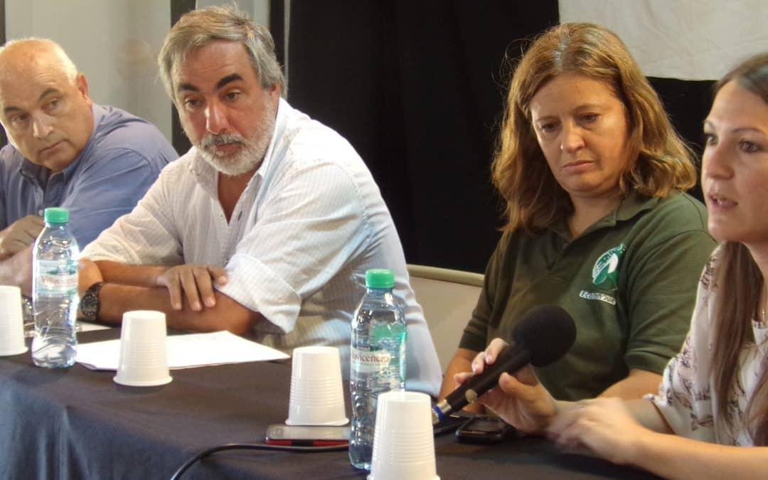 Fernández y Motrel participaron del Encuentro Nacional de Municipios contra el Cambio Climático