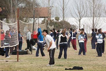 Horarios de las actividades deportivas en los barrios