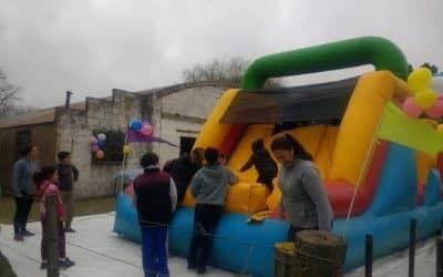 LA CARRETA TAMBIÉN TUVO SU FESTEJO POR EL DÍA DEL NIÑO
