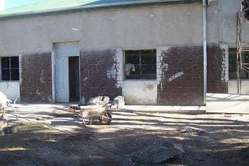 Beruti: avanzan obras en el Centro de Salud