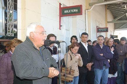 El Tren Solidario paró en Trenque Lauquen