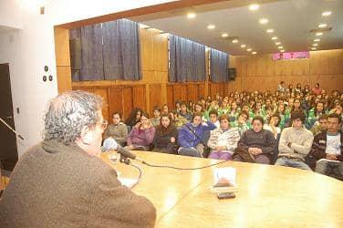Más de 200 chicos con López Echagüe