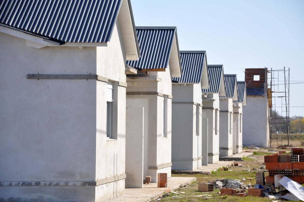 Avanza la construcción de más de 150 viviendas