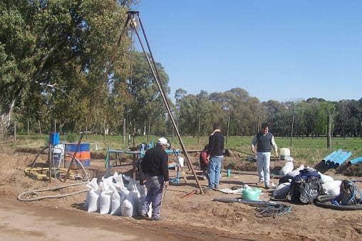 Nuevas perforaciones de agua en el sector norte