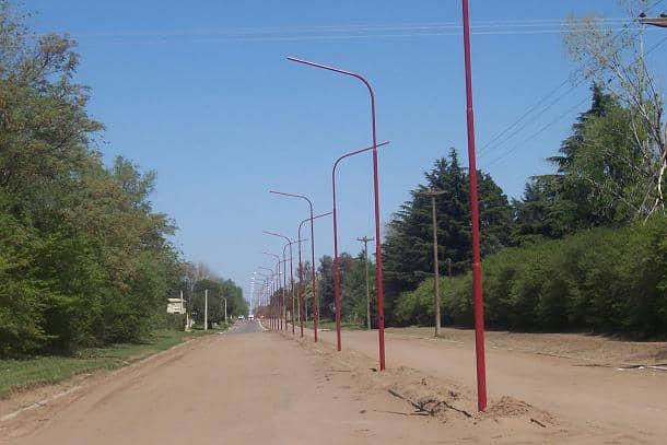 Obras de iluminación para el sector norte