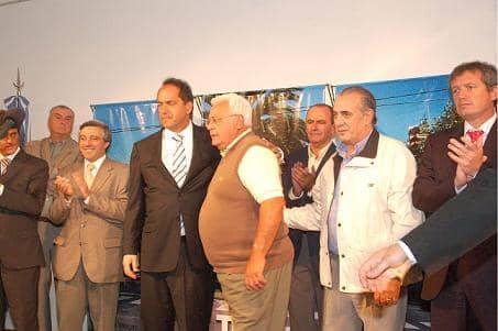 Barracchia se reunió con el gobernador Scioli