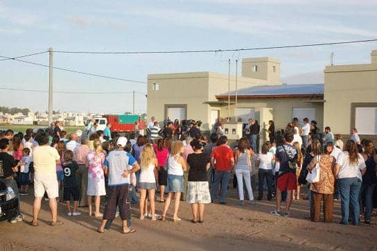 El Municipio entregó 34 casas del barrio Lafit