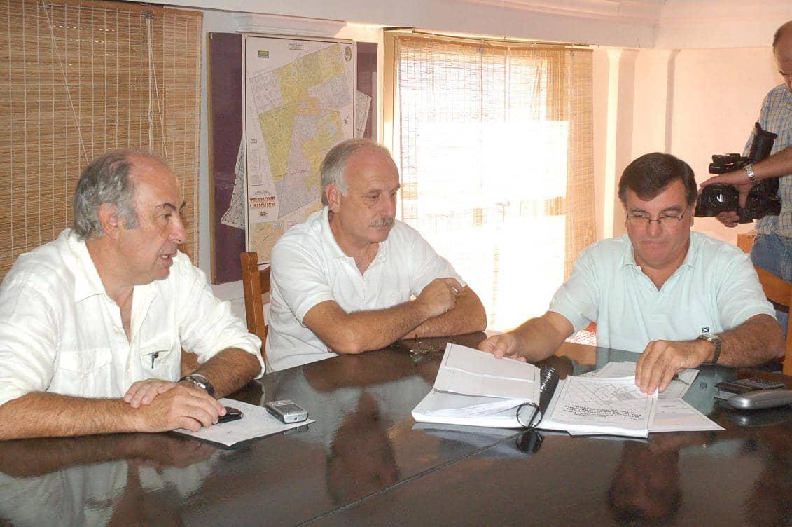 Reunión con empresarios en el municipio