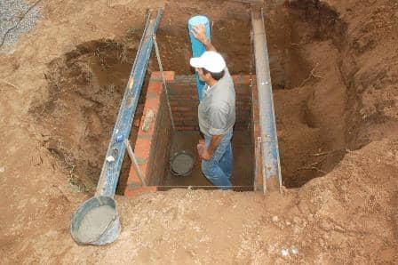 Terminan pozos de agua en el sector sur
