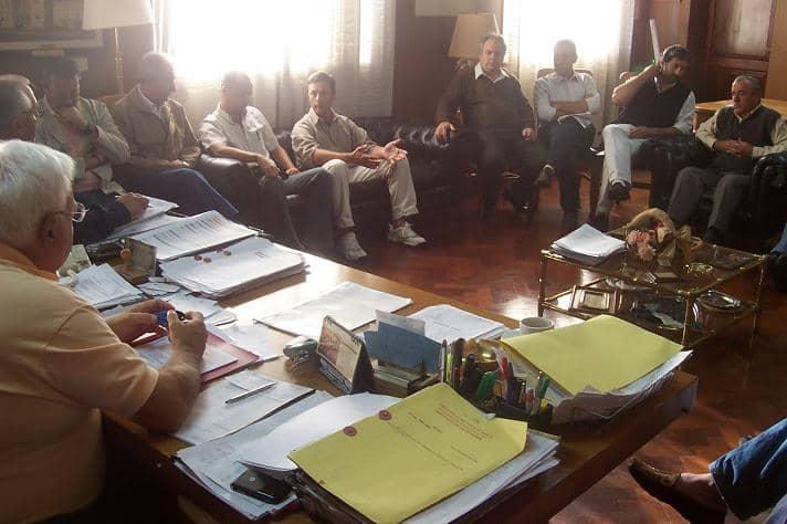 Barracchia se reunió con la mesa de diálogo