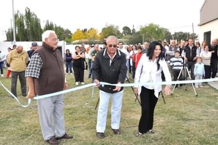 Inauguraron el playón de SUM barrial