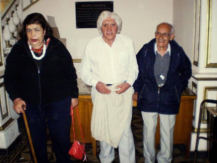 Abuelos del Castella en la Fiesta de las Colectividades