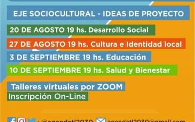 LA AGENDA 2030 PROPONE CUATRO TALLERES VIRTUALES: EL PRIMERO SERÁ SOBRE DESARROLLO SOCIAL Y TENDRÁ LUGAR EL PRÓXIMO JUEVES (20)
