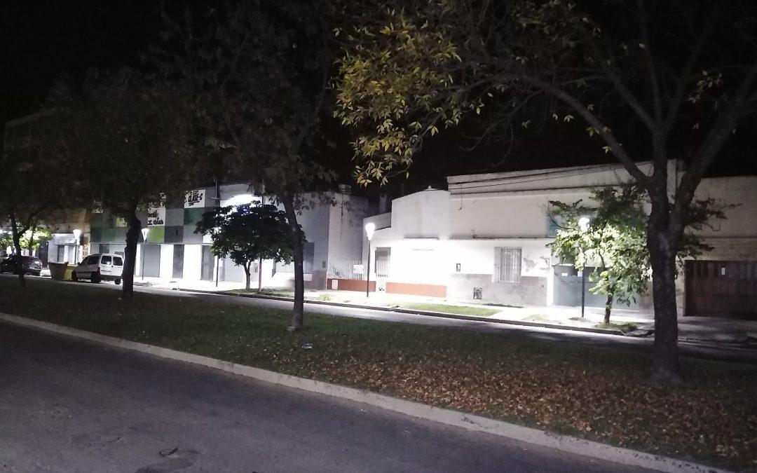 EL MUNICIPIO HABILITÓ OTRAS TRES OBRAS DE ALUMBRADO PÚBLICO LED EN DISTINTAS CALLES DE LA CIUDAD