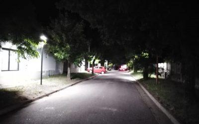 EL MUNICIPIO HABILITÓ OTRAS CUATRO OBRAS DE ALUMBRADO PÚBLICO LED EN DISTINTAS CALLES DE LA CIUDAD