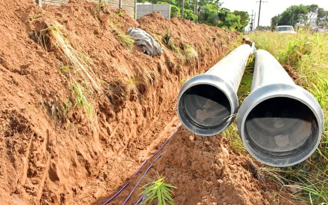 Avanzan las obras que llevarán agua a la Ampliación Urbana
