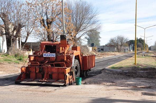 Avanza la pavimentación con el programa 100 por ciento asfalto