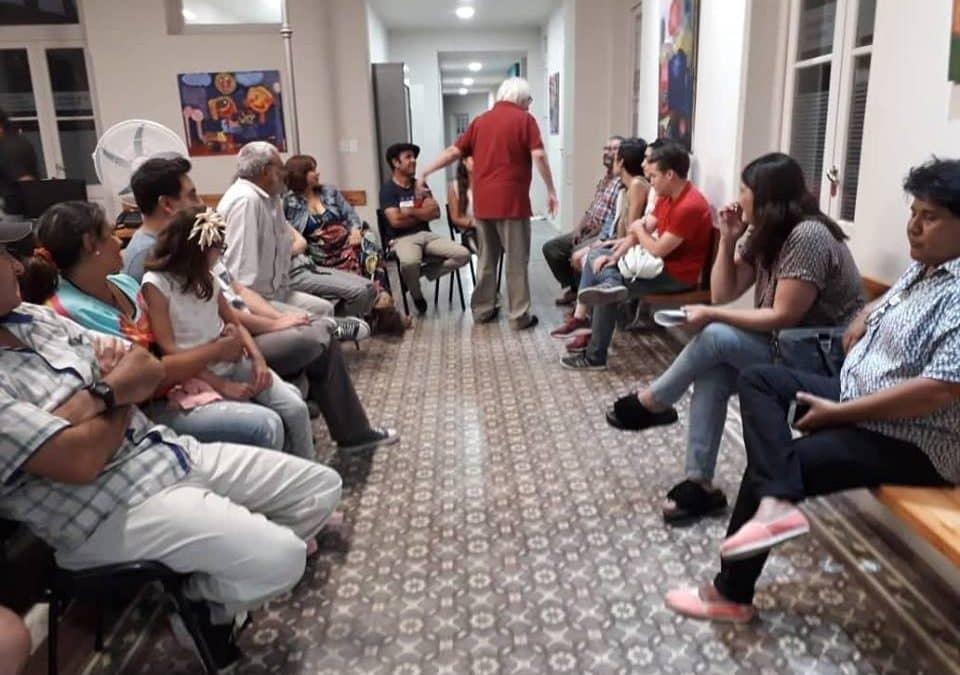 CASA DEL ESTUDIANTE EN BUENOS AIRES: SE REUNIERON EL CACE, FUNCIONARIOS MUNICIPALES, JOVENES Y FAMILIAS