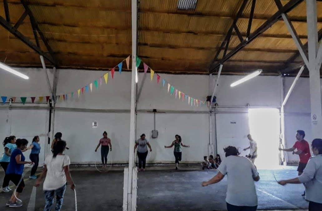 LA ESCUELA MUNICIPAL DE BOXEO DE BERUTI COMENZO SUS ACTIVIDADES CON UNA VEINTENA DE JOVENES