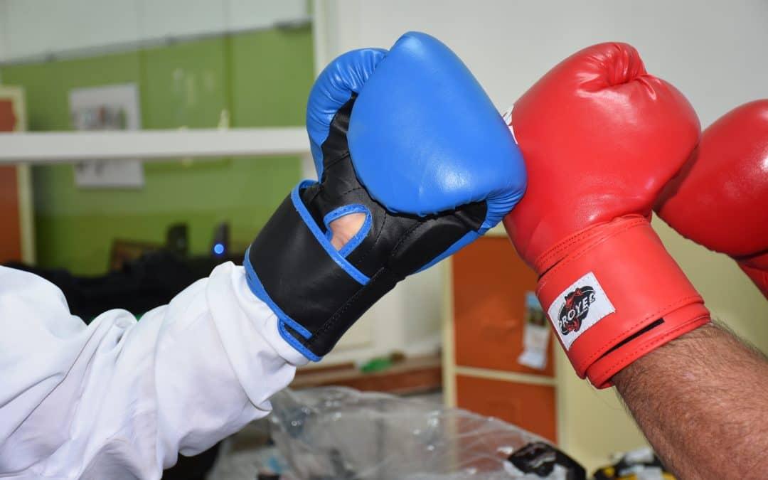 La Escuela Municipal de Boxeo recibió equipamiento