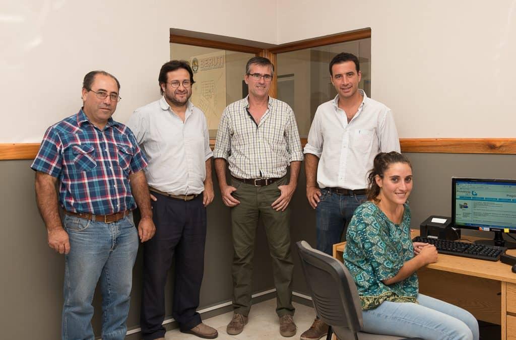 Comenzará a funcionar en Berutti el servicio de Provincia Net