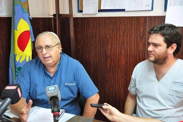 Hospital: se formará un equipo de 14 médicos para cubrir las guardias