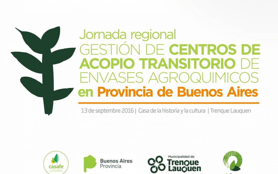 Se realizará mañana una jornada regional de Gestión de Centros de Acopio Transitorio
