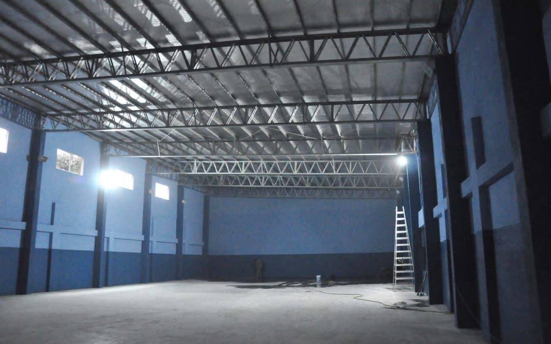 Se inaugura mañana (jueves) el gimnasio del CEF 18