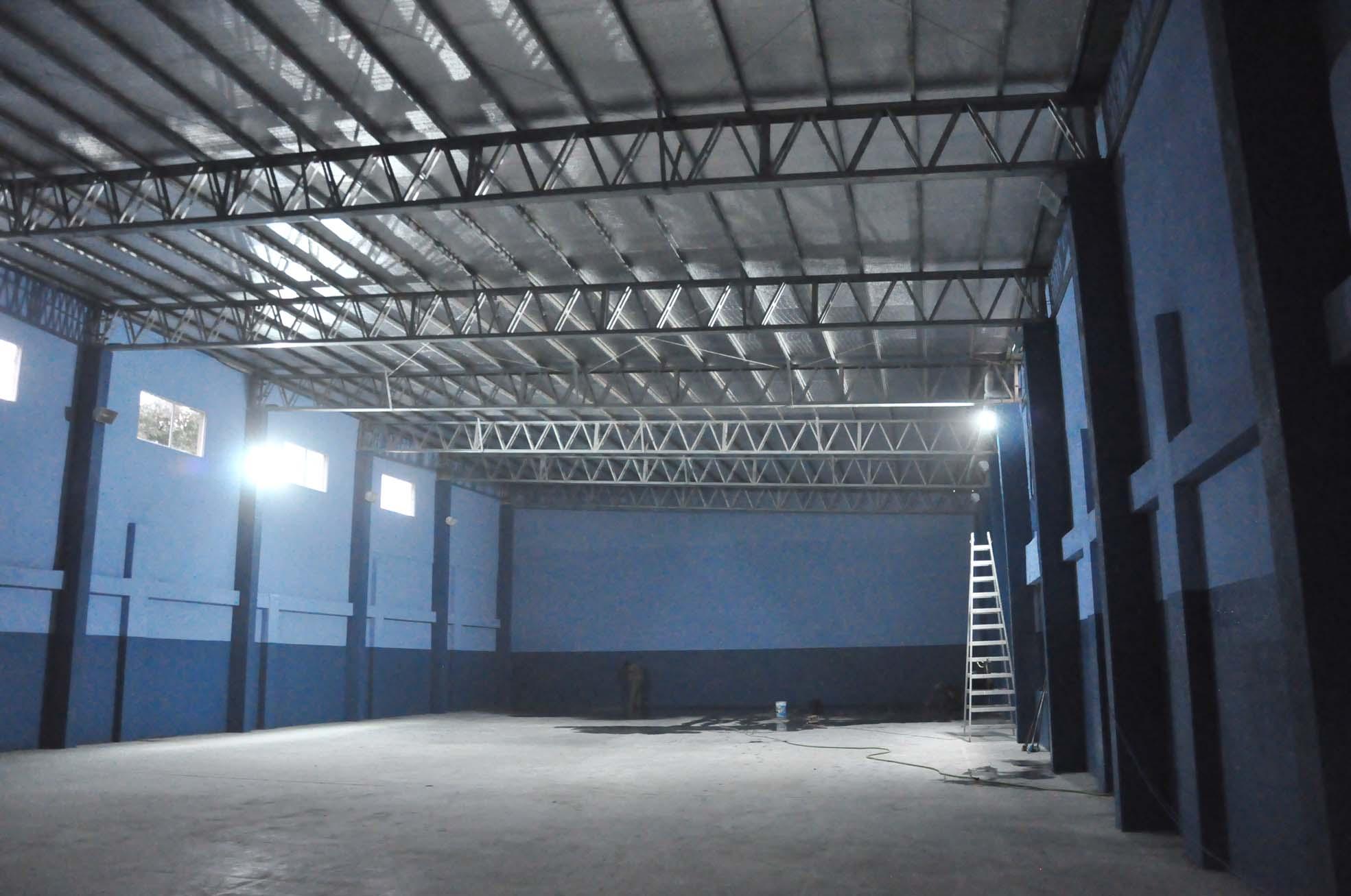El jueves 11 se inauguran las refacciones del gimnasio del CEF 18
