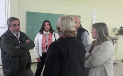 Se habilitaron las aulas construidas por la Municipalidad en el CFP 401