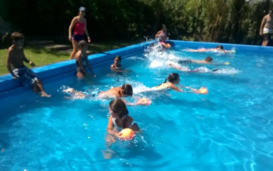 Ocheta niños ya participaron de la Colonia Barrial de Verano