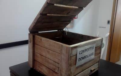 Venta de composteras domiciliarias en la oficina de Ambiente