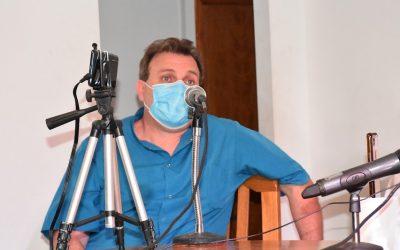 """COVID-19 / EL SUBSECRETARIO DE SALUD, DR. VALENTE DIJO: """"HAY UN AGOTAMIENTO DEL PERSONAL DE SALUD, QUE ES UN RECURSO HUMANO LIMITADO"""""""
