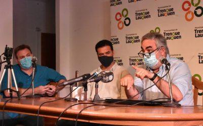 """COVID-19 / EL INTENDENTE ADVIRTIÓ: """"SI NO NOS AYUDAMOS COMO COMUNIDAD LOS NÚMEROS VAN A EMPEORAR Y TENDRÉ QUE TOMAR DECISIONES MÁS RIGUROSAS"""