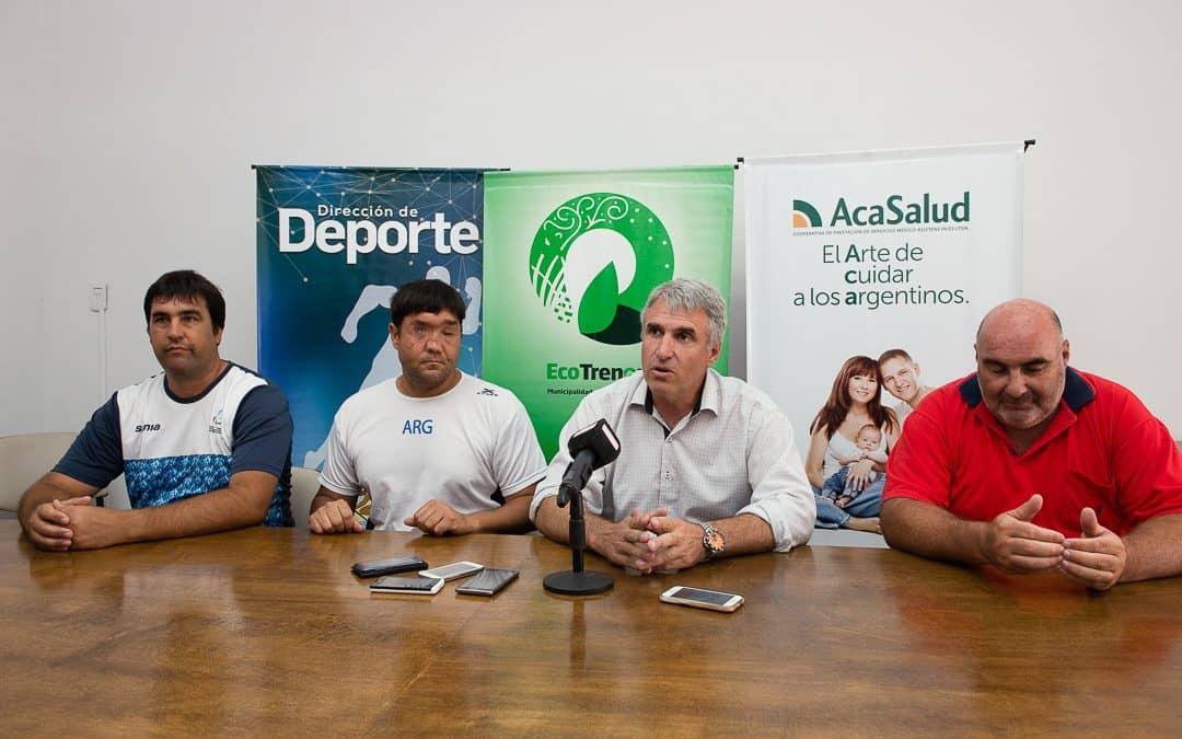 Selección Argentina Paraolímpica de ciegos y disminuidos visuales ya está en la ciudad